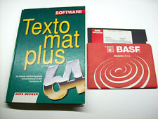 < textomat plus C 64 > Data Becker libro con disquete (z3g023)