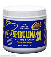Zoo Med Spirulina 20 Flake Food 2oz