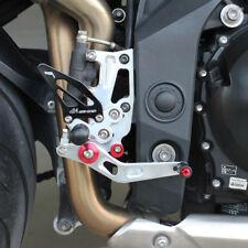 2011-2015 Triumph Speed Triple 1050 Rearsets Foot Pegs Footrest Rear Set Sets