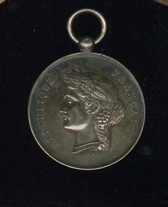 Corrèze : grande médaille Argent ? , Mr brugeille instituteur à Bugeat 1892