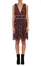 149538 New Isabel Marant Etoile Balzan Floral Printed Silk Sleeveless Dress XS