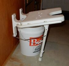 Wall Mount White Fold Down Shower Seat