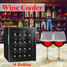 16 Bottles Counter Wine Cellar Cooler/Chiller Refrigerator Thermostat Cabinet