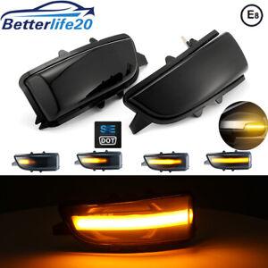Dynamic LED Side Marker Indicator Turn Signal Light For Volvo S80 C30 2006-2013
