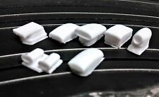 Resin HO scale hood scoop lot custom parts.
