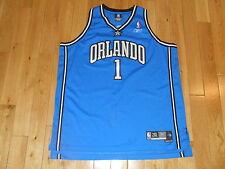 Vintage Reebok TRACY McGRADY Blue ORLANDO MAGIC NBA Team SWINGMAN JERSEY 2XL XXL