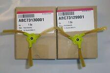 LG RoboKing VACUUM BRUSH  ABC73129901 & ABC73130001 PAIR VR6270
