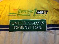 New listing formula 1 shirt / Benetton-elf button down shirt XL