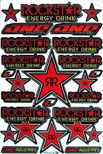 Rockstar Energy Sticker Superbike Motorcycle Auto Bike Graphic Kits Vinyl Decal