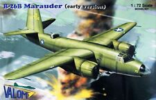 MARTIN B-26 B MARAUDER - EARLY VERSION (USAAF MKGS) 1/72 VALOM LIMITED EDITION