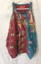 robe originale colorée Desigual  taille 4 ans  bon état (C931)