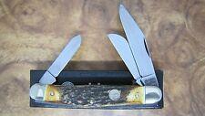 BOKER KNIVES 117474HH GENUINE STAG SOLINGEN GERMANY STOCKMAN KNIFE NEW SALE