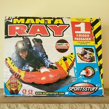 SPORTSSTUFF MANTA RAY Snow Tube Winter Sledding Sled 62 x 56 in NEW