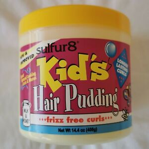 Sulfur8 Kid's Hair Pudding frizz free curls 14.4oz - Australia Stock