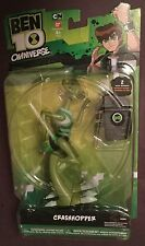 BEN 10 CRASHHOPER 6 inch action figure DNA ALIEN HEROES Bandai 2012 OMNIVERSE
