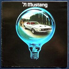 Prospekt brochure 1971 Ford Mustang (USA)