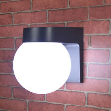 Outdoor Light 3W LED Exterior Wall Sconce Lamp Bulb Plastic+PMMA Cottage Garage