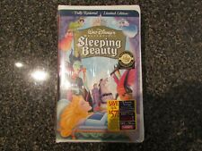 DISNEY - SLEEPING BEAUTY - NEW -  SEALED - VHS  - MASTERPIECE COLLECTION