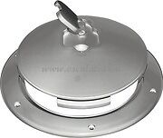 LARGE GREY BOAT INSPECTION HATCH / MANHOLE COVER 265 mm TOP QUALITY INSPGY265