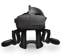 VR Stand, Headphones & Lens Cover for Oculus Quest Virtual Reality 128gb Headset