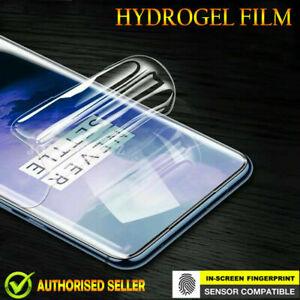 Full Coverage Hydrogel LCD Clear Screen Protector Film Guard For OnePlus 7 pro