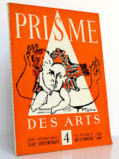 Prisme des Arts 4. Revue Internationale d'Art Contemporain. 1956.