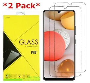2-Pack Premium Real Tempered Glass Screen Protector for SAMSUNG Galaxy A42 5G