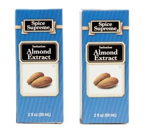 Spice Supreme Almond Extract 2 Pack