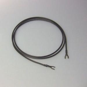 Erdungskabel Massekabel Ground-wire für Plattenspieler Turntables, Länge 1m