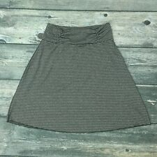 Tranquilty by Colorado Clothing Skirt Polyester Spandex Skirt Medium Black Gray