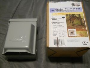 NEW Midwest Outdoor Power Outlet 50 AMPS U054P Receptacle 120/240V Surface Mount