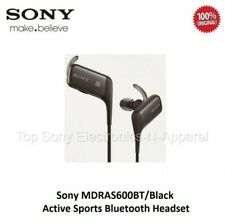 Sony MDRAS600BT Active Sports Bluetooth Headset Water Resistant - Black