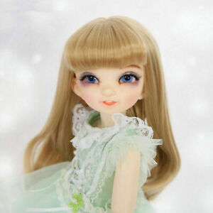 New Green Dress clothes Hair shoes For 1/6 BJD Doll Fairyland Littlefee Reni