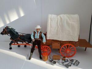 Gabriel / Marx Lone Ranger mut 4in1 Wagon, lose