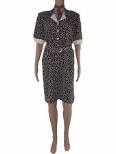 donna abito vestito vintage anni 60 corto sartoriale taglia xl extra large