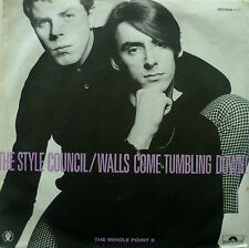 "7"" 1985 MINT-! STYLE COUNCIL Walls Come Tumbling Down"