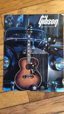 1971 Gibson Acoustic guitar catalog original J 200
