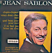 ++JEAN SABLON clopin-clopant/venez donc chez moi/quel beau jour pr moi EP VG++