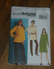 Butterick 5289 Women's Misses Tunic Top Dress Pants Very Easy Pattern Sz 16 - 24