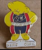 Pin Badge, Teddy Bear, Slimming World, Marie Curie, BRAND NEW in bag,