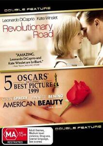 Revolutionary Road / American Beauty DVD Brand New & Sealed