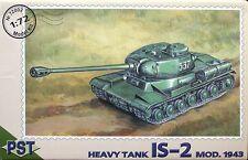 1/72  Heavy Tank IS-2 Mod. 1943 PST 72002 Models kits