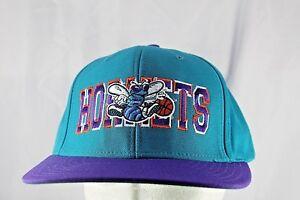 Charlotte Hornets Teal/Purple NBA Baseball Cap Snapback