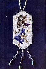 "Peyote Bead Kit  ""Angel of Winter"" Ornament (Uses Delica Seed Beads)"