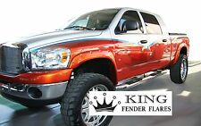 2002 - 2008 DODGE RAM 1500 - POCKET RIVET Bolt-On KING FENDER FLARES – SMOOTH