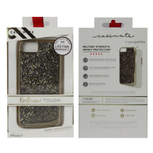 New Case-Mate Brilliance Tough iPhone 6, 7 and 8 in Stunning Champagne Gold