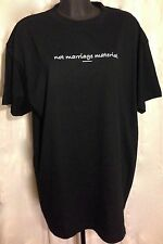 """Not Marriage Material"" Black T Shirt XXL Venice California"