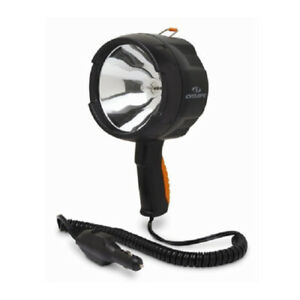 Cyclops 1400 Lumens 12-Volt DC Halogen Spotlight (Black)