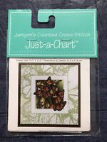 Janlynn's Counted Cross Stitch WINGS Just a Chart #013-0316-W Butterfly Pattern