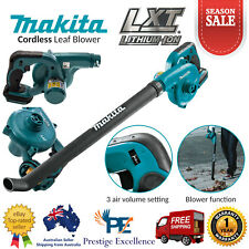 Makita Cordless Leaf Blower 18V LXT DUB183Z 500mm Long Nozzle Leaf Blowers Skin